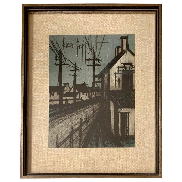Bernard Buffet Original Lithograph 1st Printing Art For Sale