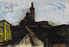 Marseille, Notre Dame de la Garde by Bernard Buffet, oil painting, 1965