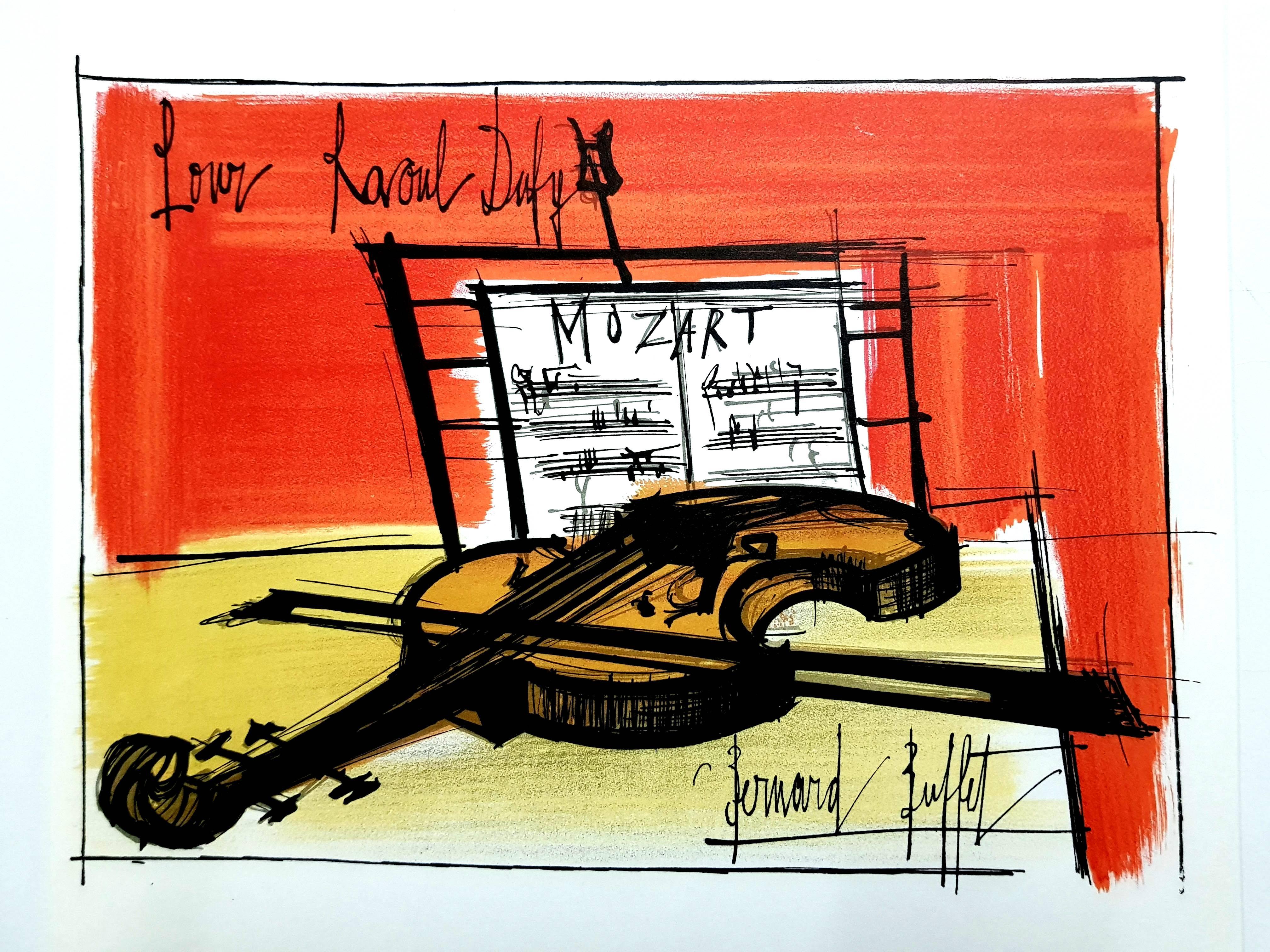 Remarkable Bernard Buffet Art 66 For Sale At 1Stdibs Download Free Architecture Designs Sospemadebymaigaardcom