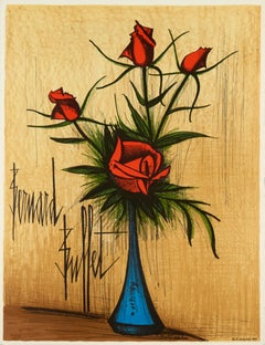 Fleurs (Flowers) by Bernard Buffet