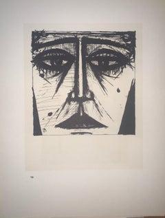 Galerie Charpentier Poster - Color Lithograph - Bernard Buffet