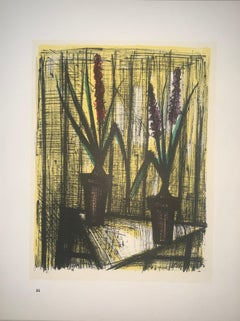 Hyacinths - Color Lithograph - Bernard Buffet