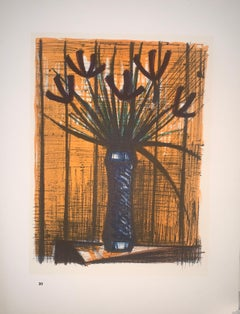 Irises - Color Lithograph - Bernard Buffet