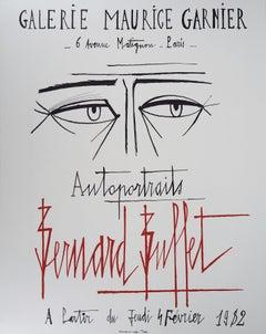 Selfportrait - Original lithograph - Mourlot 1982
