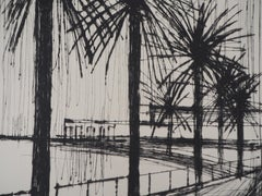 The Palms Of Naples - Lithograph original, 1959