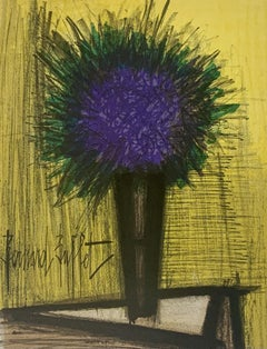 The Purple Bouquet of Flowers