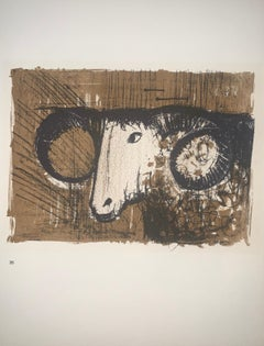 The Ram - Color Lithograph - Bernard Buffet