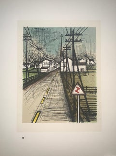 The Road - Color Lithograph - Bernard Buffet