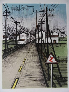 The Road - Original lithograph - Mourlot 1962