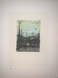 Untitled - Color Lithograph - Bernard Buffet
