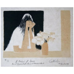 Bernard Cathelin Original Lithograph