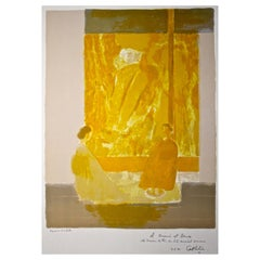 Bernard Cathelin Original Lithograph