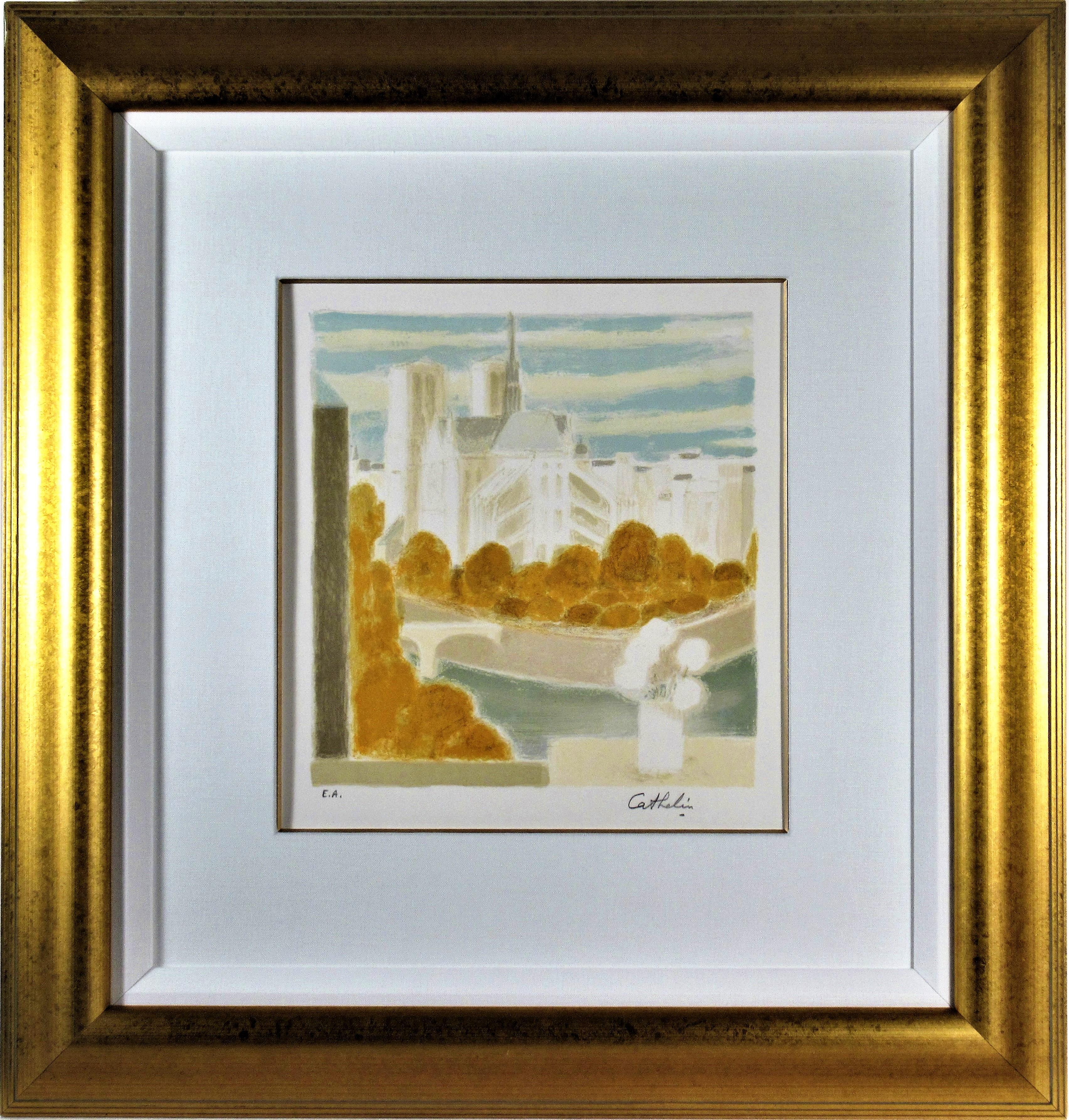 Notre Dame de Paris, View from the Artist's Studio