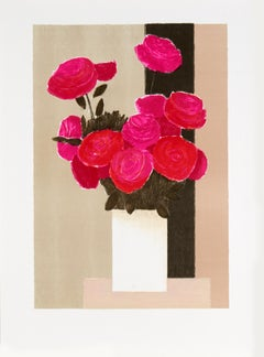 Untitled (bouquet of roses) by Bernard Cathelin