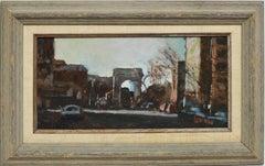 View of Washington Square, New York City Street Scene by Bernard Lennon