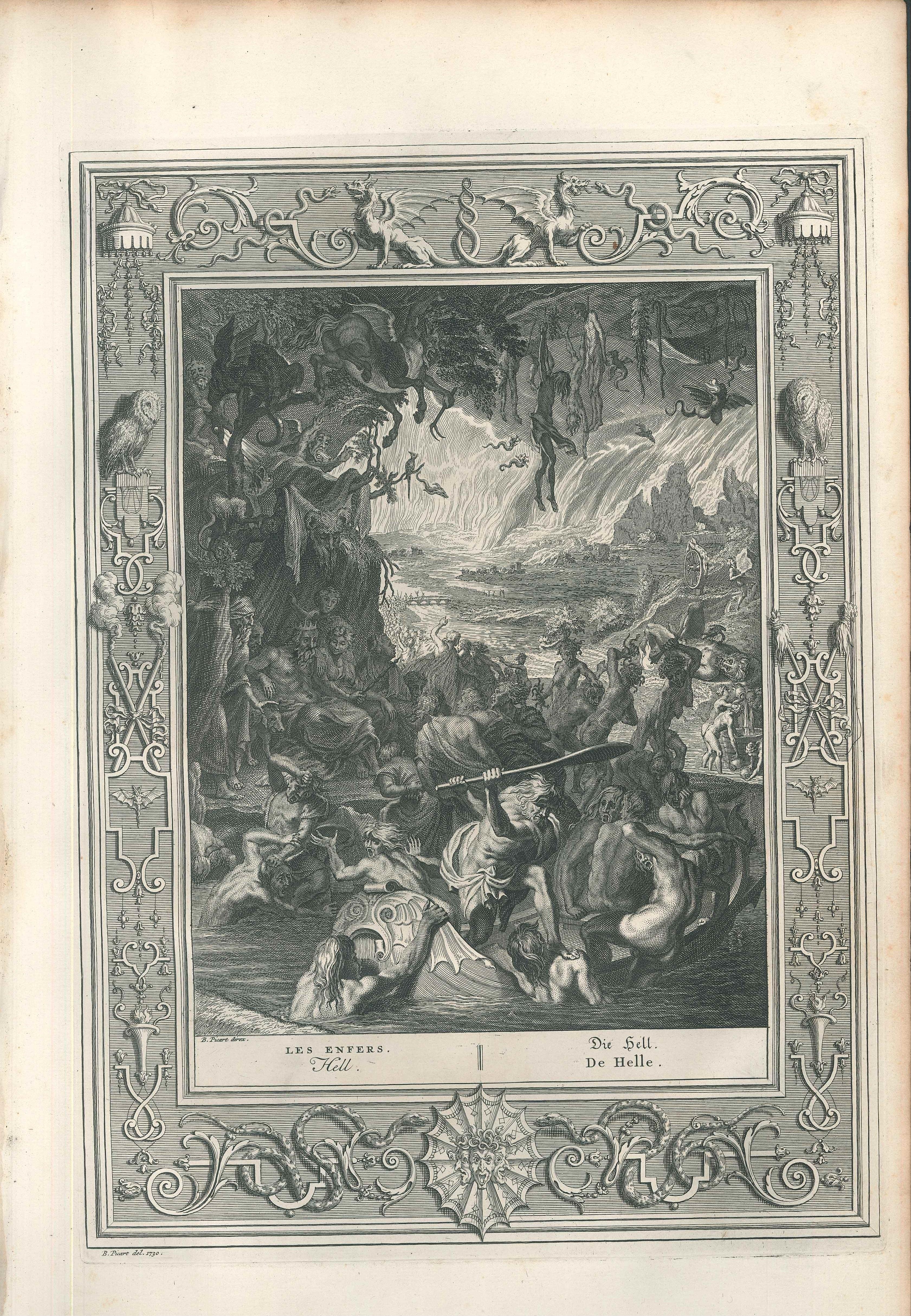 "Les Enfers, from ""Le Temple des Muses"""