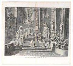 Messe Solennelle - Original Etching by by B. Picart - 1725