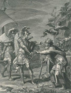 Phinée - Original Etching by Bernard Picart - 1742