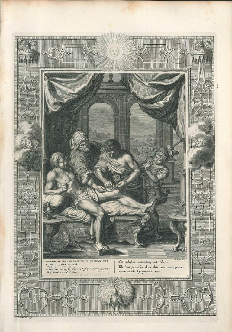 """Telephe guéri, from """"Le Temple des Muses"""""""