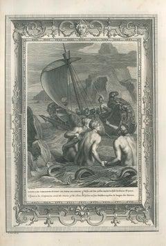 "Ulysse et ses compagnons, from ""Le Temple des Muses"""