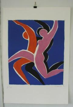 Peintre d'affiches FÊTE DE L'AFFICHE. 1985 (sans texte)