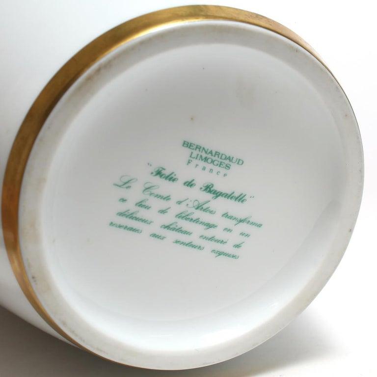 Neoclassical Revival Bernardaud French Limoges Porcelain