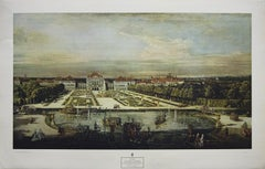 """""""The Castle of Nymphenburg"""" Print Published By New York Graphic Society"""