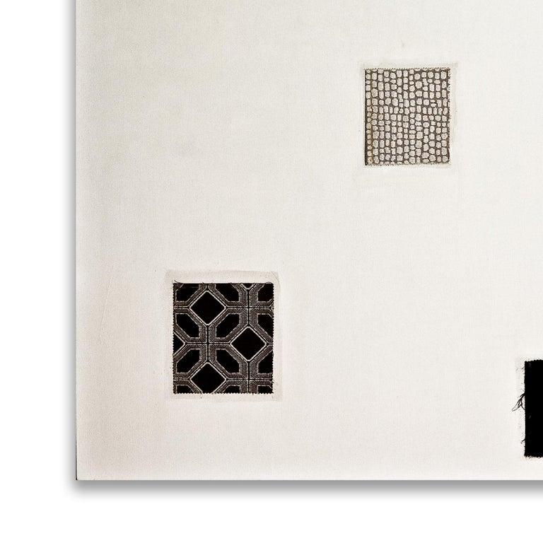 Towards Stillness 2674 - Contemporary Mixed Media Art by Bernd Haussmann