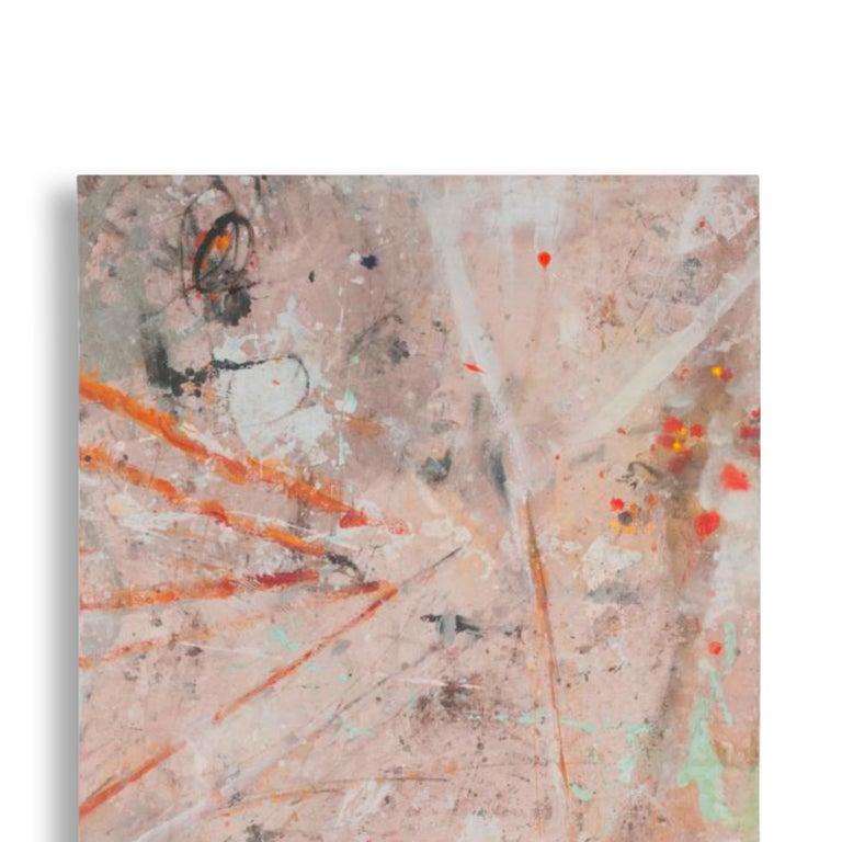 1194 MY SECRET WORK  - Painting by Bernd Haussmann