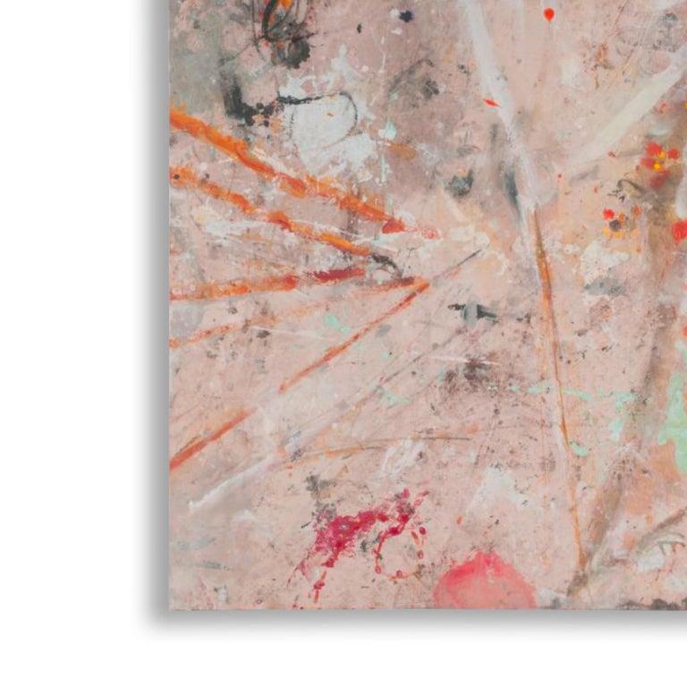 1194 MY SECRET WORK  - Abstract Painting by Bernd Haussmann