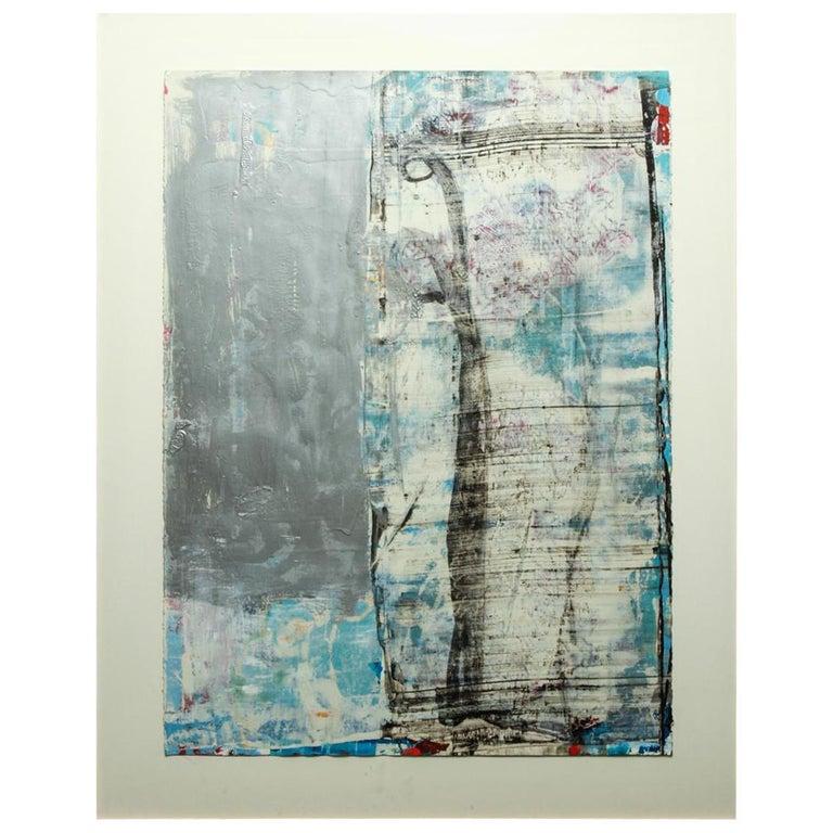 Bernd Haussmann German Abstract Mixed-Media On Paper