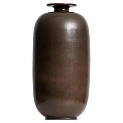 Berndt Friberg Ceramic Vase Produced by Gustavsberg in Sweden