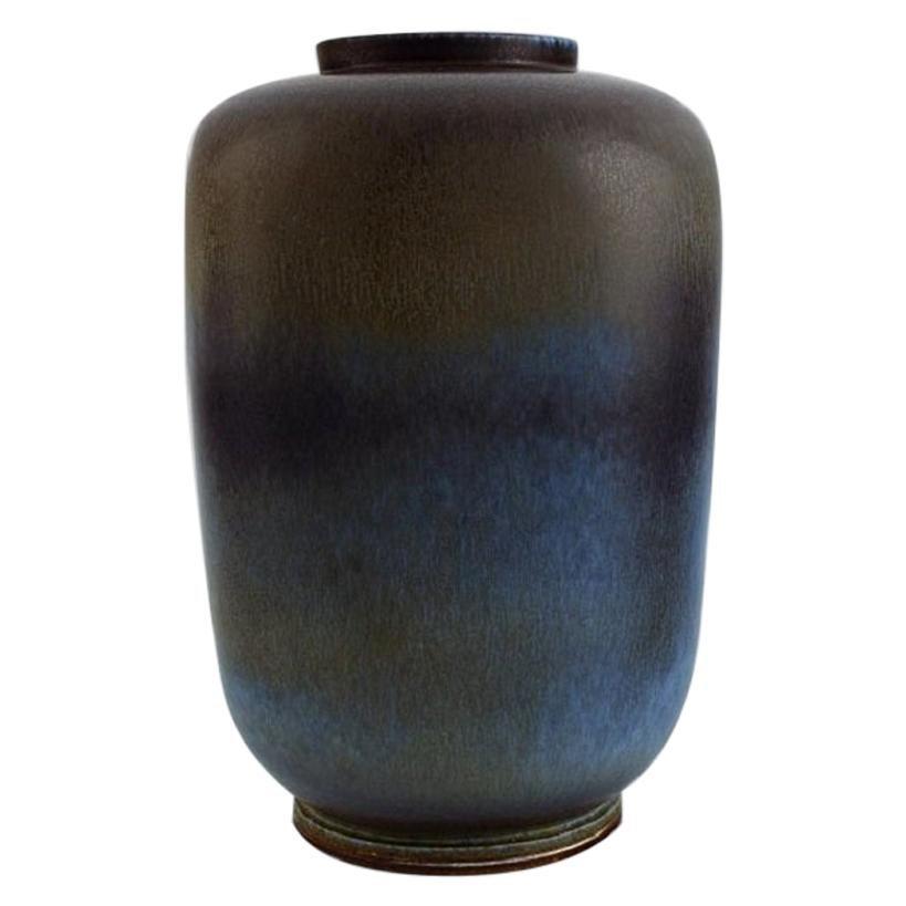 Berndt Friberg for Gustavsberg Studiohand, Large Vase, 1968
