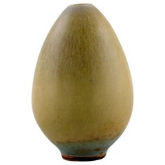 Berndt Friberg, Gustavsberg Studio Hand, 1950s-1960s, Rare Pottery Vase