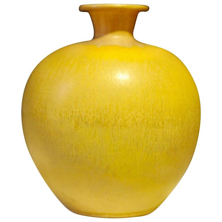 Berndt Friberg, Stoneware Vase, Gustavsberg, Sweden, 1969 For Sale