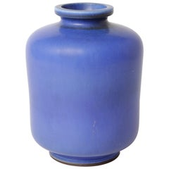 Berndt Friberg Unique Stoneware Vase for Gustavsberg, 1964
