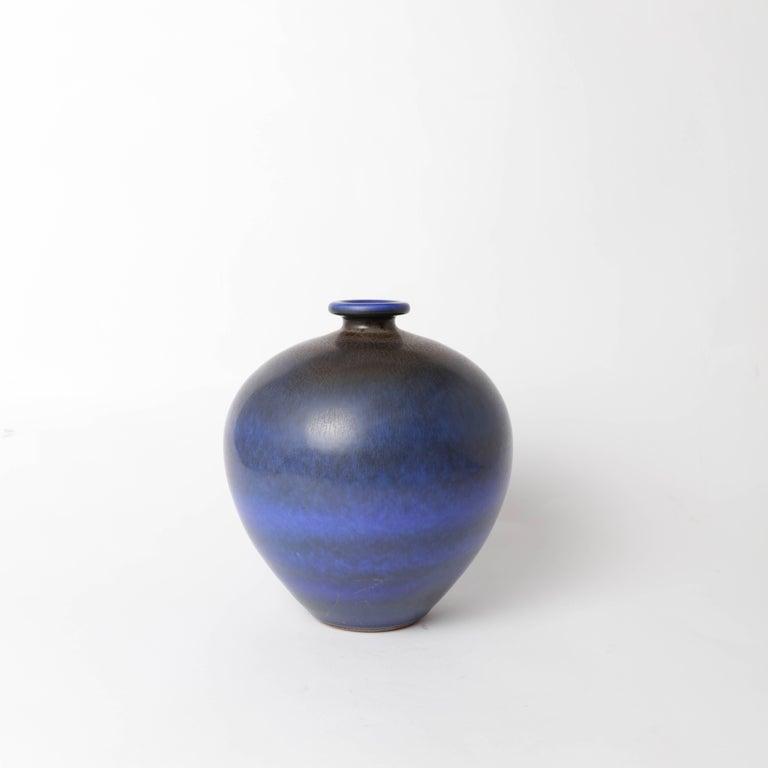 Berndt Friberg Unique Stoneware Vase for Gustavsberg, 1966 In Excellent Condition For Sale In Stockholm, SE