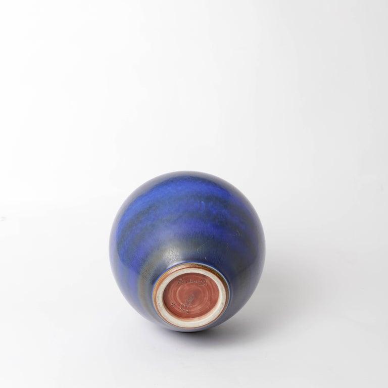 Berndt Friberg Unique Stoneware Vase for Gustavsberg, 1966 For Sale 1