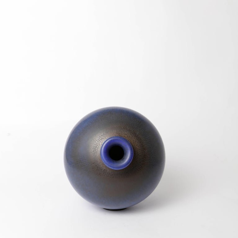 Berndt Friberg Unique Stoneware Vase for Gustavsberg, 1966 For Sale 2