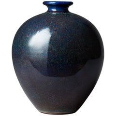 Berndt Friberg Unique Stoneware Vase for Gustavsberg, 1969