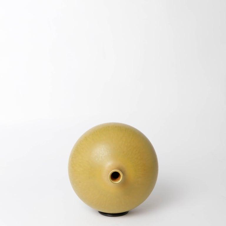 Berndt Friberg Unique Stoneware Vase for Gustavsberg, 1977 For Sale 3