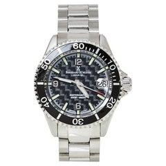 Bernhard H. Mayer Black Stainless Steel Nauticus Women's Wristwatch 37 mm