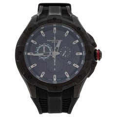 Bernhard H. Mayer Black Victor Chronograph Men's Wristwatch 50 mm