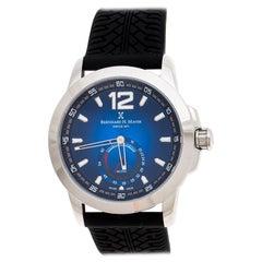 Bernhard H Mayer Blue Stainless Steel Drift Men's Wristwatch 44 mm