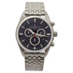 Bernhard H. Mayer Stainless Steel Ascent Chronograph Men's Wristwatch 44 mm