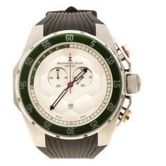 Bernhard H. Mayer White Stainless Steel Striker Men's Wristwatch 50 mm