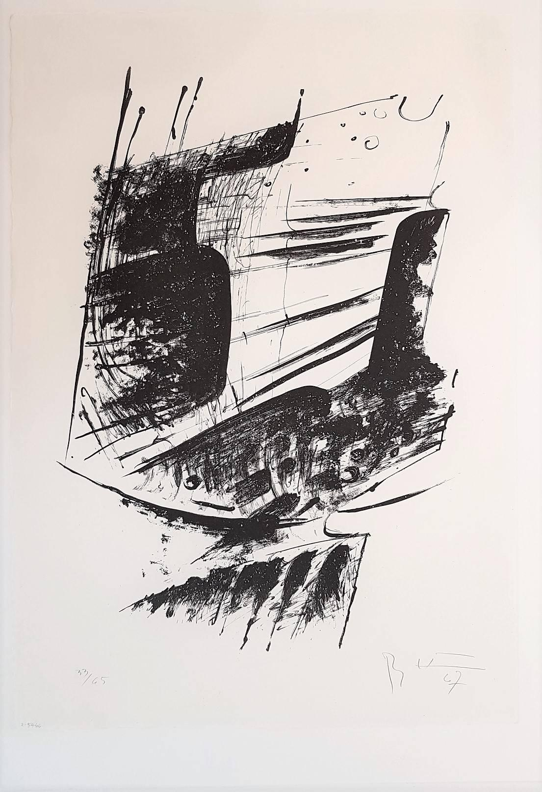 Gestural Abstraction - Untitled