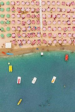 Adria 10 by Bernhard Lang - Aerial abstract photography, Italy's Adriatic Coast