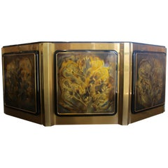 "Bernhard Rohne for Mastercraft ""Tree of Life"" Credenza"