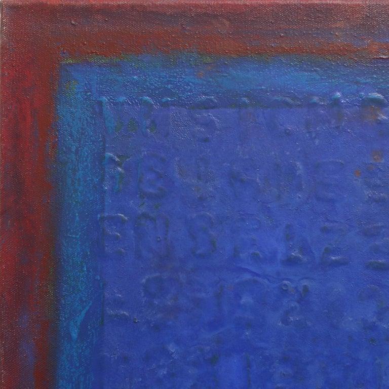 AWH 216 - Minimalist Painting by Bernhard Zimmer